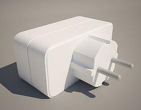 3D model Dual network adapter