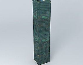 3D model Minsheng Bank Building CMBC Tower