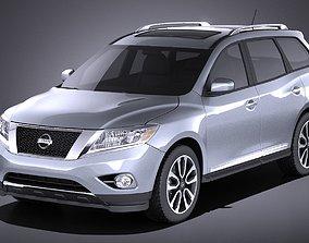 Nissan Pathfinder 2016 VRAY 3D