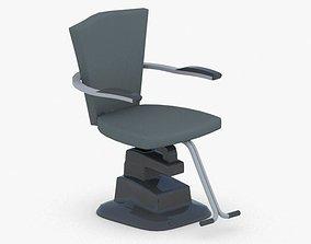 0903 - Hairdresser Chair 3D asset
