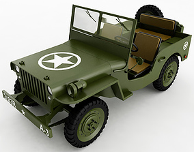 3D model Willys Jeep general