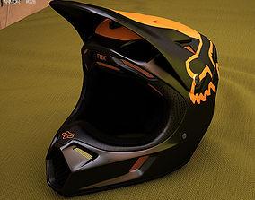 3D model Fox V3 Moth Helmet