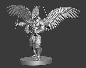 3d model for dungeon and dragons fantasy character
