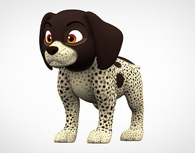 3D model German Shorthaired Pointer Puppy