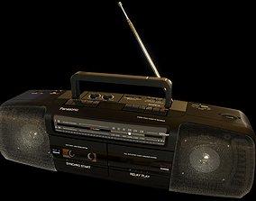 Cordless Double Cassette Stereo 3D