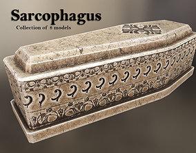 Sarcophagus 3D asset