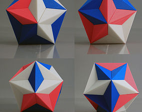 DODOECAHEDRON 3D printable model