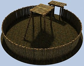 3D model Iron age fort