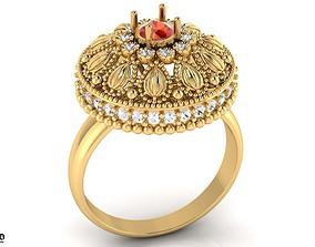 3D printable model Singapuri Style ring