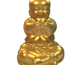 Buddhist monk 3D printable model art