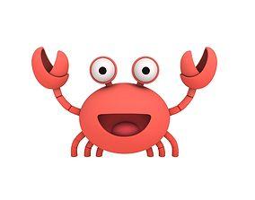 3D Crab Character