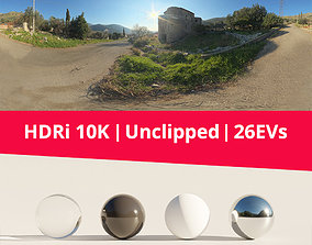 3D HDRi - Castle Road and Nature