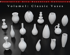 Decorative Arts Essential Volume1 Classic Vases 3D model
