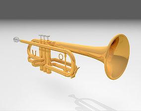 Trumpet - Cinema 4D Model