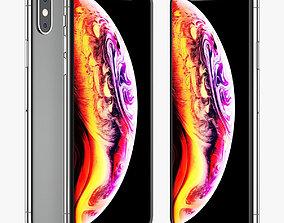Apple iPhone XS 3D model element