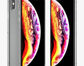 Apple iPhone XS 3D model element
