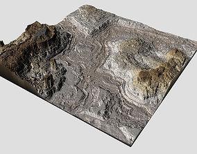 low-poly Canyon Model