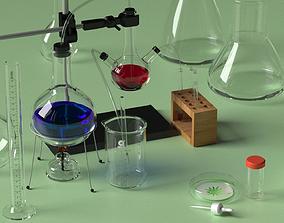 chemistry set 3D model