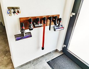 Dyson Tool Holder and Mounting Bracket 3D print model