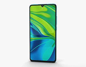 3D Xiaomi Mi Note 10 Aurora Green