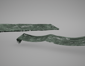 3D model Awning Game Ready Low Poly
