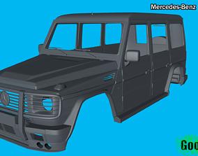 Mercedes-Benz G500 4x4 3D print model