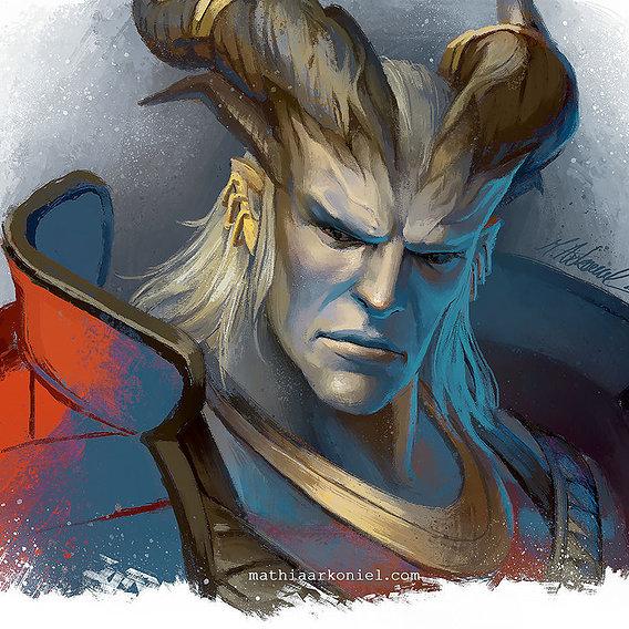 dragon age: The Arishok