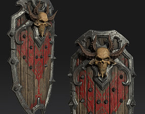 Warrior Heavy Shield 3D asset