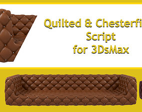 3D Quilted and Chesterfield Script