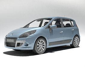 3D Renault Scenic 2010
