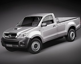Toyota Hilux single cab 3D