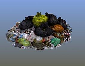 3D Trash Pile