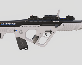 3D model Sungazer Rifle