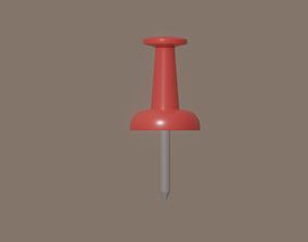 low-poly Pin model