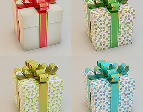 3D Gift Box Present box Collection