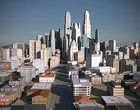 City 13 3D asset