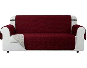 3D Reversible Non-Slip Box Cushion Sofa Slipcover
