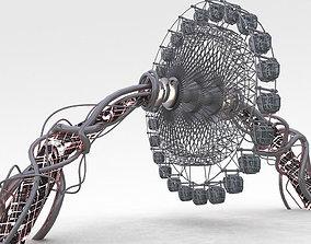 3D model atraction Ferris wheel