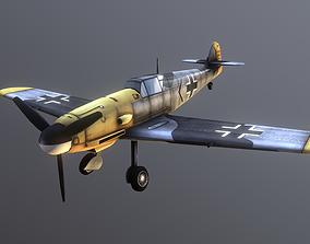 3D asset Messerschmitt Bf 109