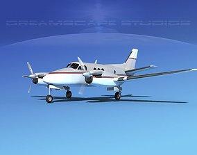 Beechcraft King Air C100 V13 3D model