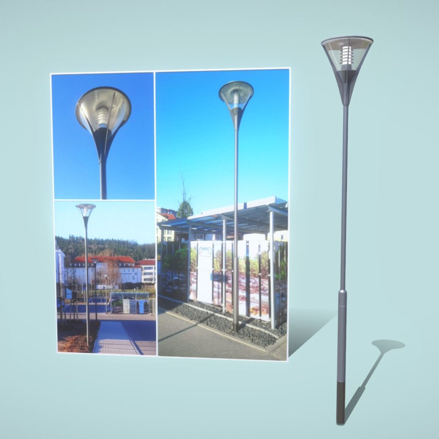Street Light (6) (Low-Poly Basic Version)