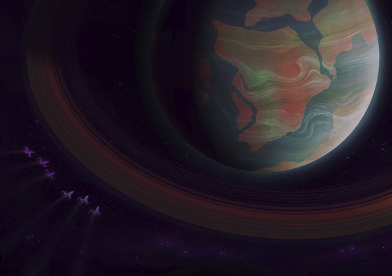 In Search of Life - Earth? Saturn?