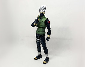 Kakashi action figure from the anime 3D print model