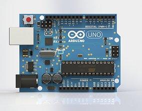 3D model robot Arduino Uno R3