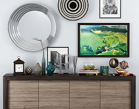 3D model Picasso sideboard - Riflessi