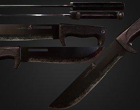 Knife Colt CT45 Jungle Commander 3D model