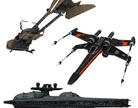 3D Star Wars Collection