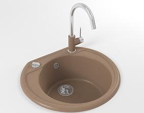 3D Kitchen sink 01