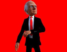 Joe Biden - Cartoon Style 3D model