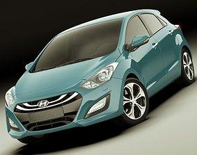 3D Hyundai i30 2012